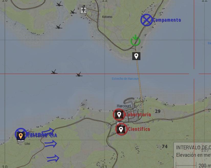 Mapa El Puente