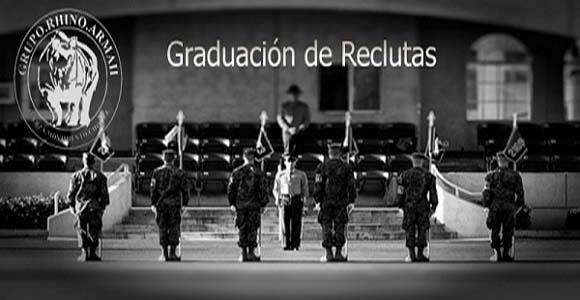Graduación de reclutas