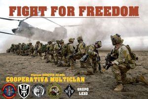 Misión Oficial: FIGHT FOR FREEDOM @ Servidor Squad Alpha
