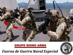 Fuerza de Guerra Naval Especial @ Servidor Misiones del Grupo Rhino