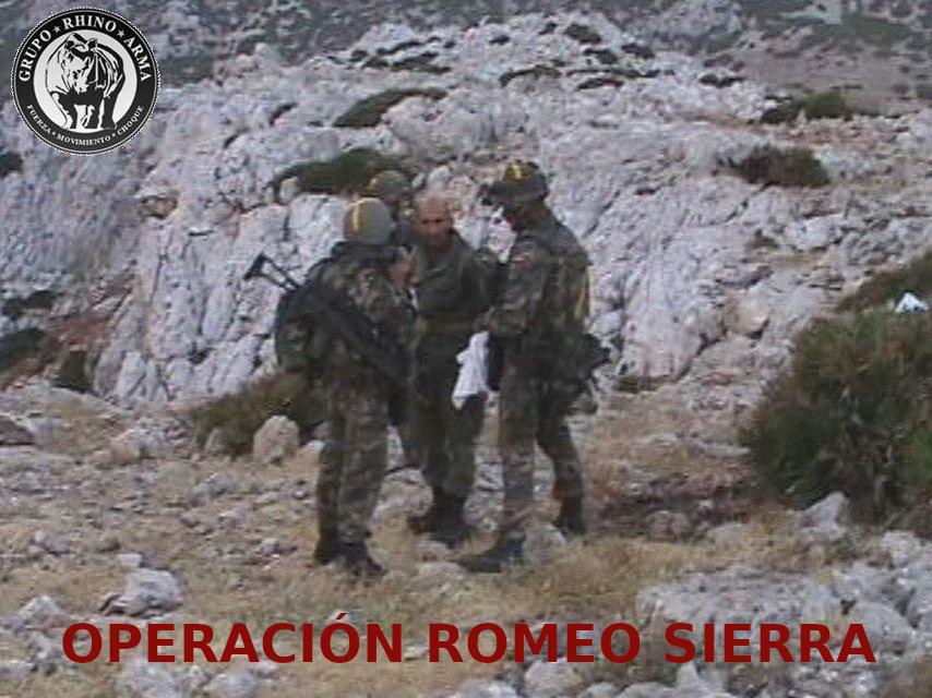 OPERACIÓN ROMEO SIERRA